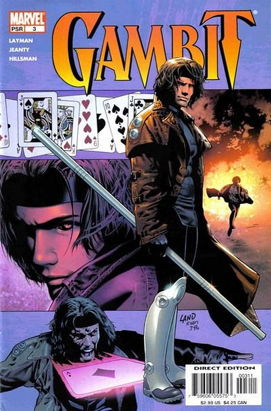 Cover of Gambit (Vol 2) #3. One of 250,000 Vintage American Comics on sale from Krypton!