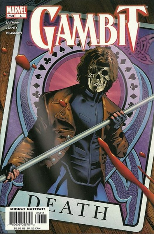 Cover of Gambit (Vol 2) #4. One of 250,000 Vintage American Comics on sale from Krypton!