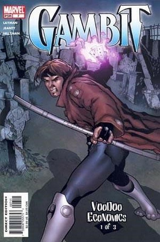 Cover of Gambit (Vol 2) #7. One of 250,000 Vintage American Comics on sale from Krypton!