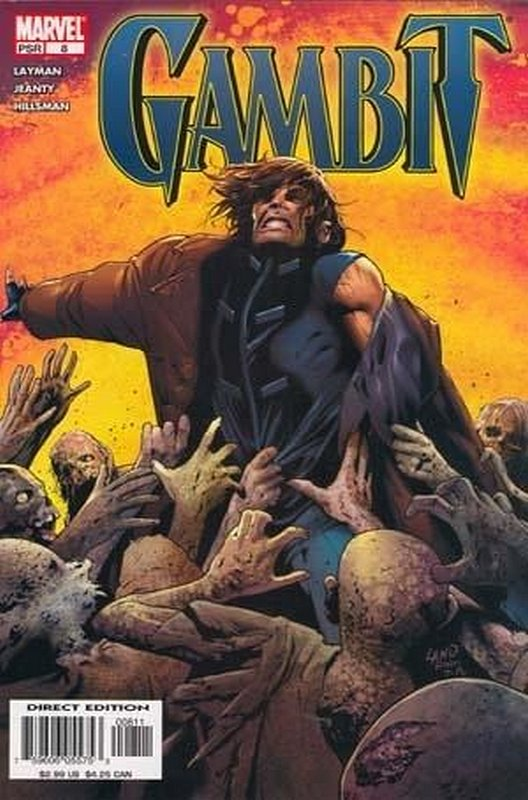 Cover of Gambit (Vol 2) #8. One of 250,000 Vintage American Comics on sale from Krypton!