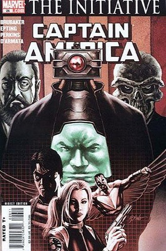 Cover of Captain America (Vol 5) #26. One of 250,000 Vintage American Comics on sale from Krypton!
