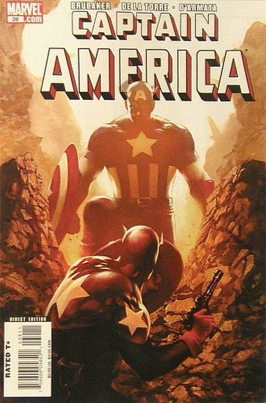 Cover of Captain America (Vol 5) #39. One of 250,000 Vintage American Comics on sale from Krypton!