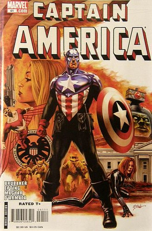 Cover of Captain America (Vol 5) #41. One of 250,000 Vintage American Comics on sale from Krypton!