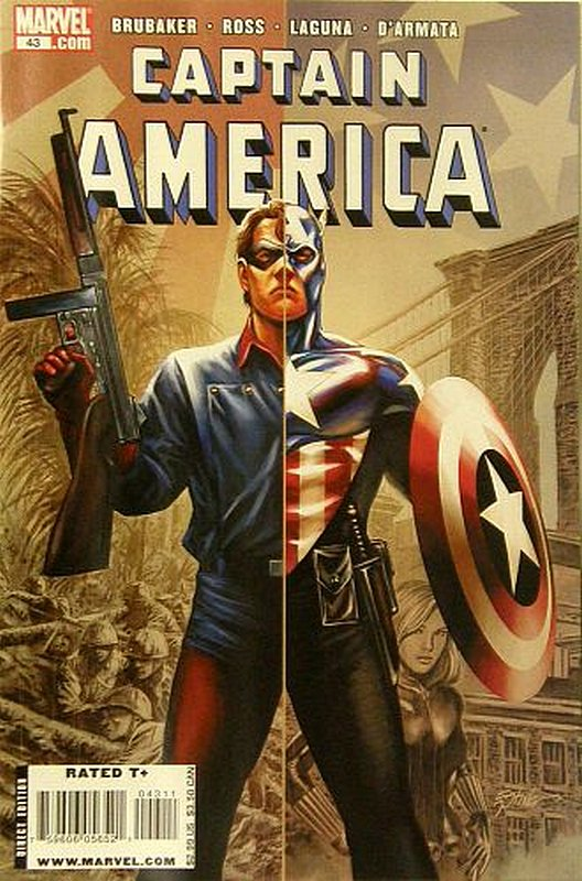 Cover of Captain America (Vol 5) #43. One of 250,000 Vintage American Comics on sale from Krypton!