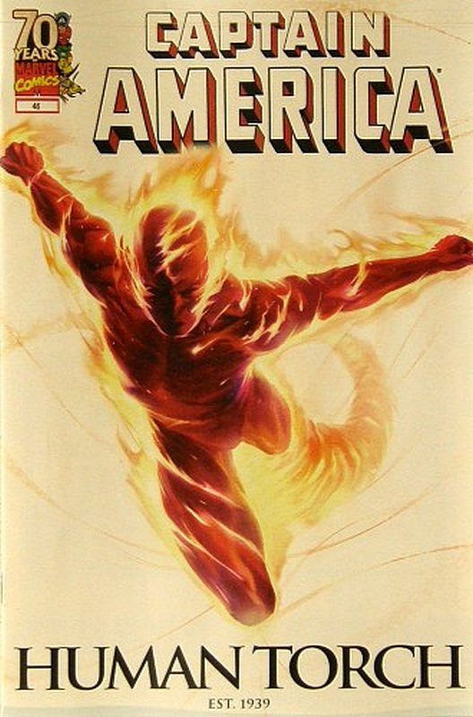 Cover of Captain America (Vol 5) #46. One of 250,000 Vintage American Comics on sale from Krypton!