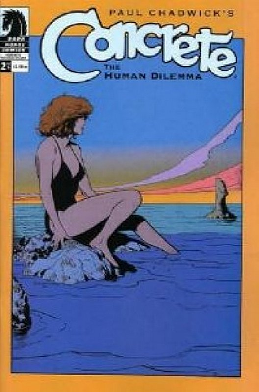 Cover of Concrete: Human Dilemma (2004 Ltd) #2. One of 250,000 Vintage American Comics on sale from Krypton!