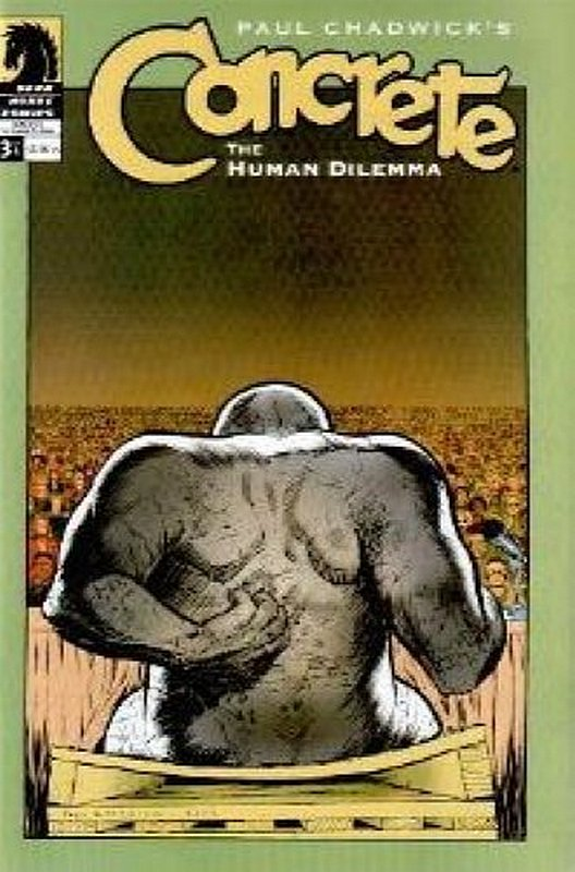 Cover of Concrete: Human Dilemma (2004 Ltd) #3. One of 250,000 Vintage American Comics on sale from Krypton!