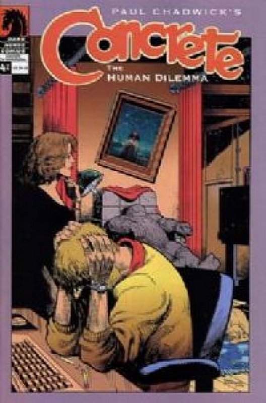 Cover of Concrete: Human Dilemma (2004 Ltd) #4. One of 250,000 Vintage American Comics on sale from Krypton!