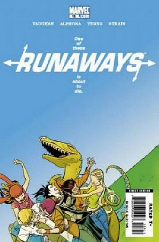 Cover of Runaways (Vol 2) #18. One of 250,000 Vintage American Comics on sale from Krypton!