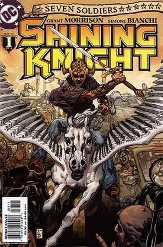 Cover of Seven Soldiers: Shining Knight (2005 Ltd) #1. One of 250,000 Vintage American Comics on sale from Krypton!