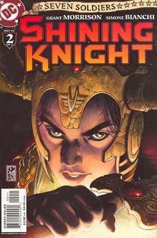 Cover of Seven Soldiers: Shining Knight (2005 Ltd) #2. One of 250,000 Vintage American Comics on sale from Krypton!