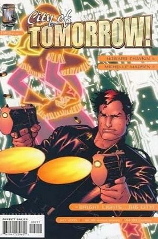 Cover of City of Tomorrow (2005 Ltd) #2. One of 250,000 Vintage American Comics on sale from Krypton!