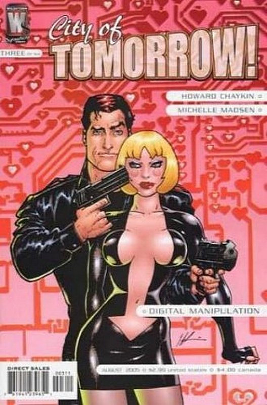 Cover of City of Tomorrow (2005 Ltd) #3. One of 250,000 Vintage American Comics on sale from Krypton!