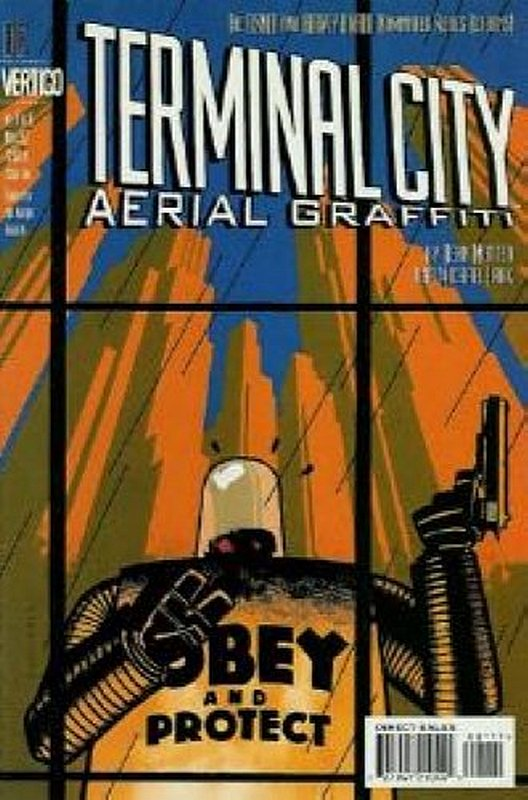 Cover of Terminal City Aerial Graffiti (1997 Ltd) #1. One of 250,000 Vintage American Comics on sale from Krypton!