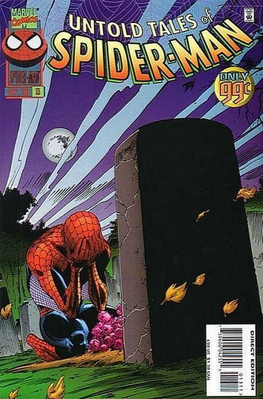 Cover of Untold Tales of Spider-Man (Vol 1) #13. One of 250,000 Vintage American Comics on sale from Krypton!
