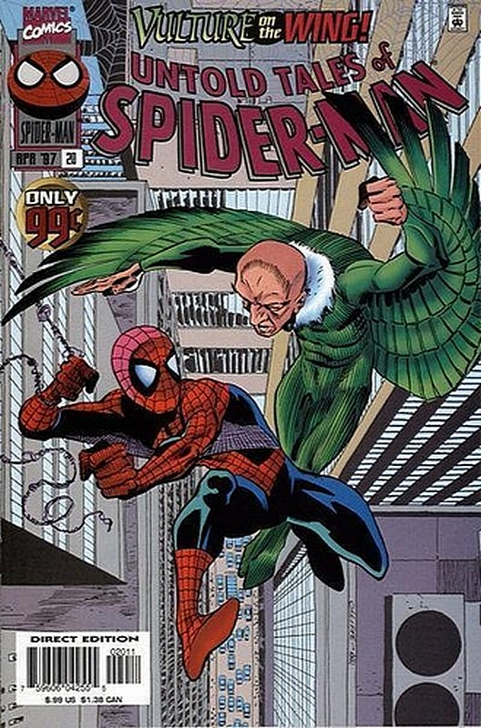 Cover of Untold Tales of Spider-Man (Vol 1) #20. One of 250,000 Vintage American Comics on sale from Krypton!