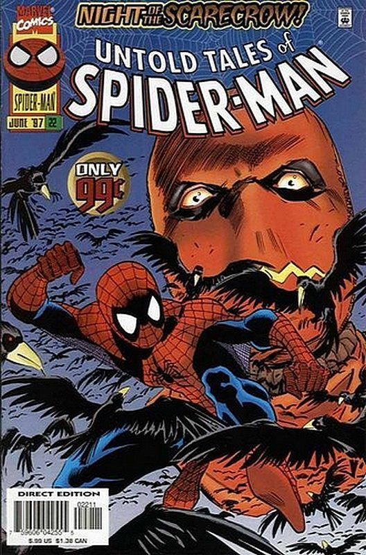 Cover of Untold Tales of Spider-Man (Vol 1) #22. One of 250,000 Vintage American Comics on sale from Krypton!