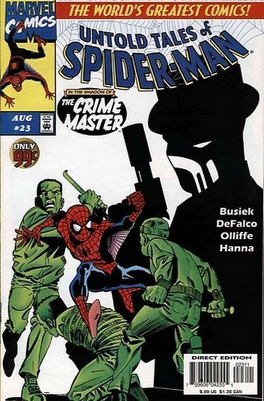 Cover of Untold Tales of Spider-Man (Vol 1) #23. One of 250,000 Vintage American Comics on sale from Krypton!