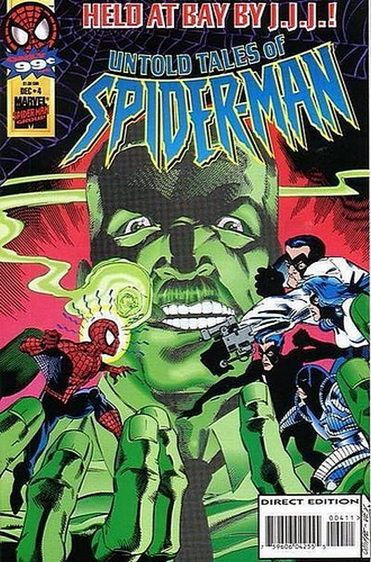 Cover of Untold Tales of Spider-Man (Vol 1) #4. One of 250,000 Vintage American Comics on sale from Krypton!