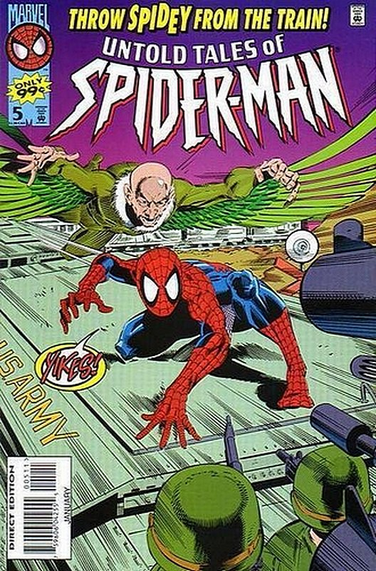 Cover of Untold Tales of Spider-Man (Vol 1) #5. One of 250,000 Vintage American Comics on sale from Krypton!