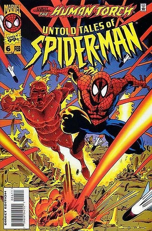 Cover of Untold Tales of Spider-Man (Vol 1) #6. One of 250,000 Vintage American Comics on sale from Krypton!