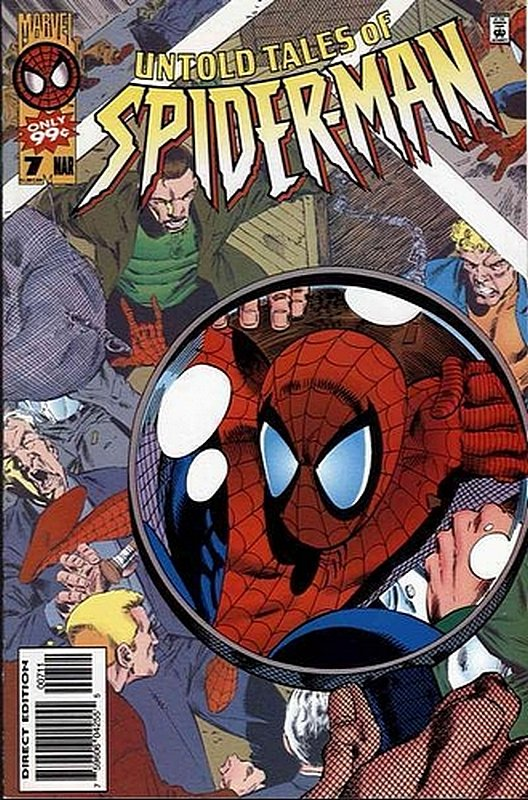 Cover of Untold Tales of Spider-Man (Vol 1) #7. One of 250,000 Vintage American Comics on sale from Krypton!