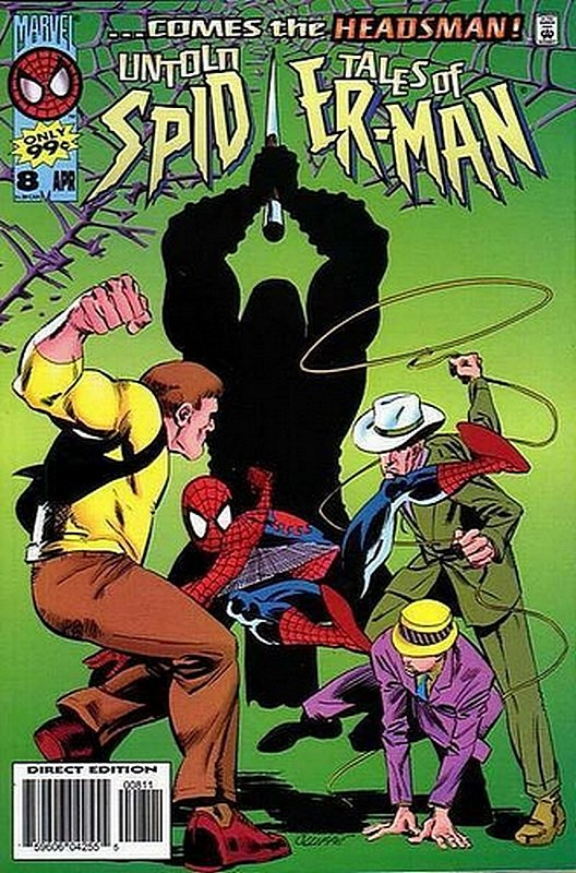 Cover of Untold Tales of Spider-Man (Vol 1) #8. One of 250,000 Vintage American Comics on sale from Krypton!