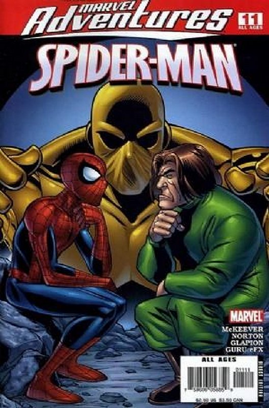 Cover of Marvel Adventures: Spider-Man (Vol 1) #11. One of 250,000 Vintage American Comics on sale from Krypton!