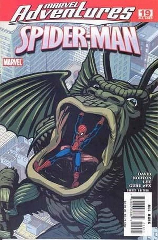 Cover of Marvel Adventures: Spider-Man (Vol 1) #19. One of 250,000 Vintage American Comics on sale from Krypton!