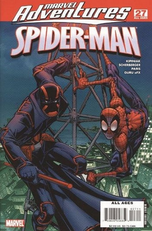 Cover of Marvel Adventures: Spider-Man (Vol 1) #27. One of 250,000 Vintage American Comics on sale from Krypton!