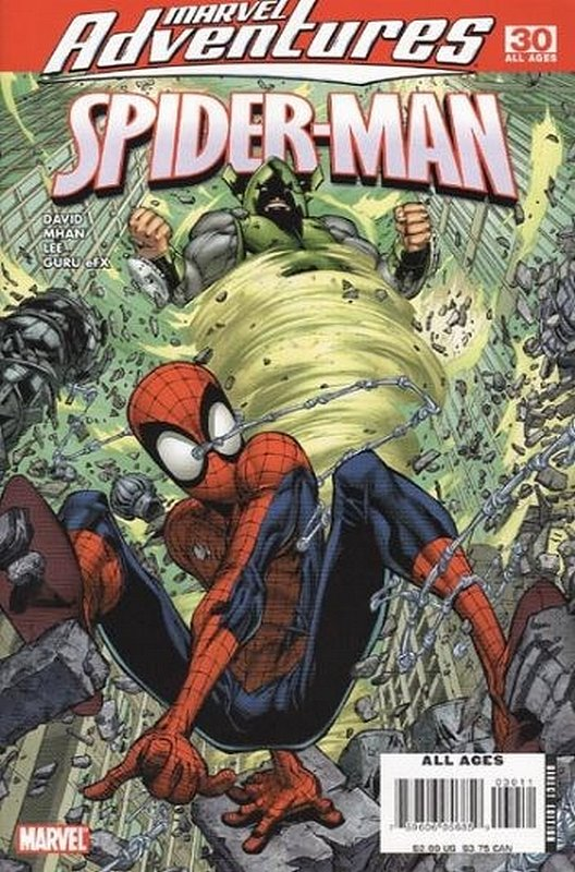 Cover of Marvel Adventures: Spider-Man (Vol 1) #30. One of 250,000 Vintage American Comics on sale from Krypton!