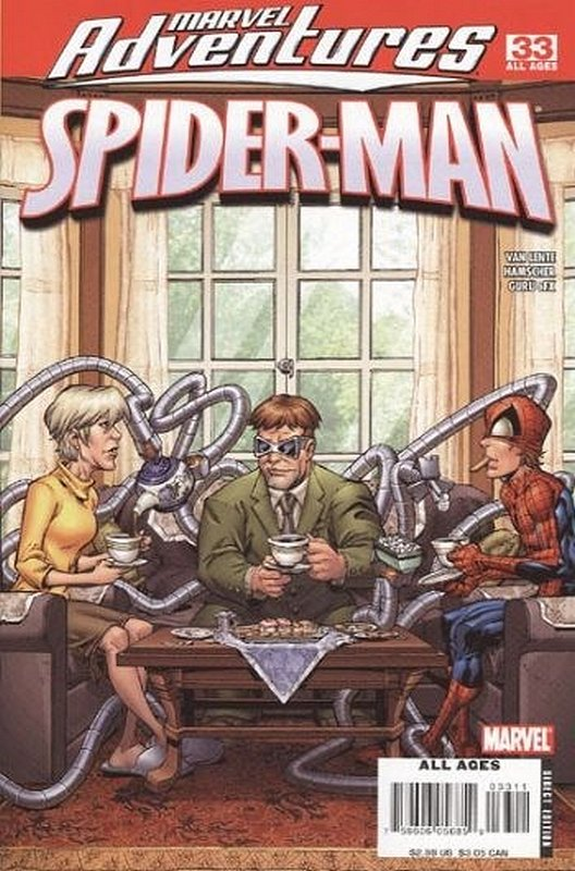 Cover of Marvel Adventures: Spider-Man (Vol 1) #33. One of 250,000 Vintage American Comics on sale from Krypton!