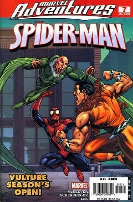 Cover of Marvel Adventures: Spider-Man (Vol 1) #7. One of 250,000 Vintage American Comics on sale from Krypton!