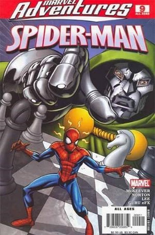 Cover of Marvel Adventures: Spider-Man (Vol 1) #9. One of 250,000 Vintage American Comics on sale from Krypton!