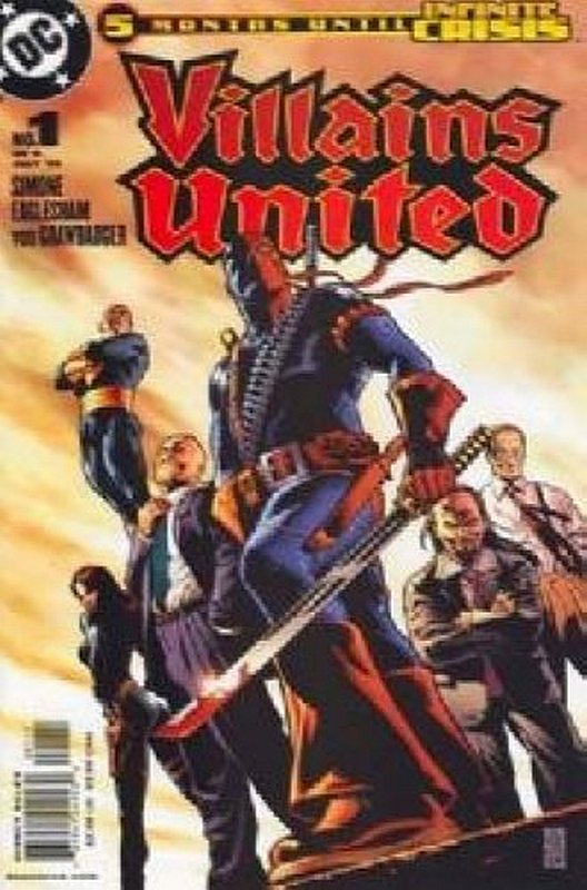 Cover of Villains United (2005 Ltd) #1. One of 250,000 Vintage American Comics on sale from Krypton!