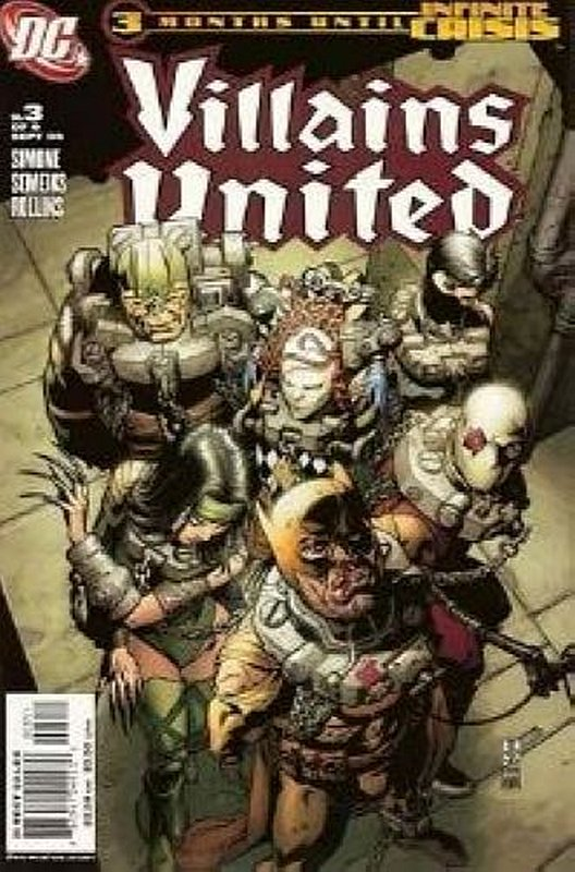 Cover of Villains United (2005 Ltd) #3. One of 250,000 Vintage American Comics on sale from Krypton!