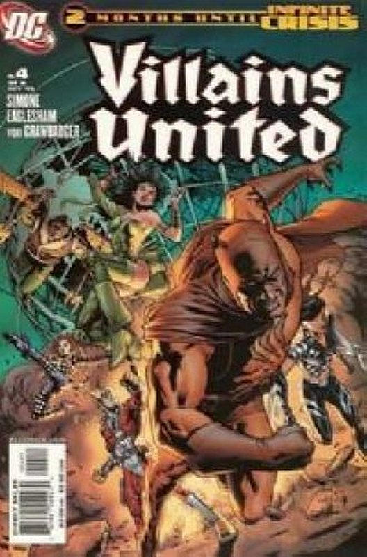 Cover of Villains United (2005 Ltd) #4. One of 250,000 Vintage American Comics on sale from Krypton!