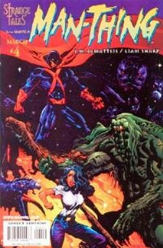 Cover of Man-Thing (Vol 3) #4. One of 250,000 Vintage American Comics on sale from Krypton!