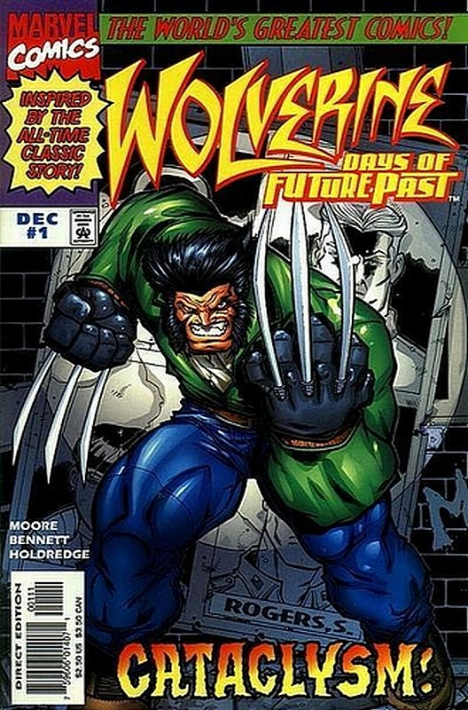 Cover of Wolverine: Days of Future Past (1997 Ltd) #1. One of 250,000 Vintage American Comics on sale from Krypton!
