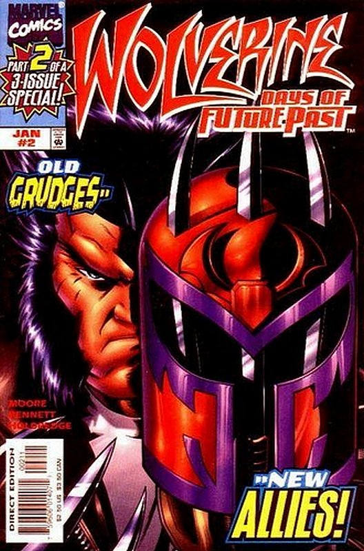 Cover of Wolverine: Days of Future Past (1997 Ltd) #2. One of 250,000 Vintage American Comics on sale from Krypton!
