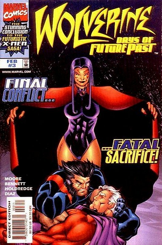 Cover of Wolverine: Days of Future Past (1997 Ltd) #3. One of 250,000 Vintage American Comics on sale from Krypton!