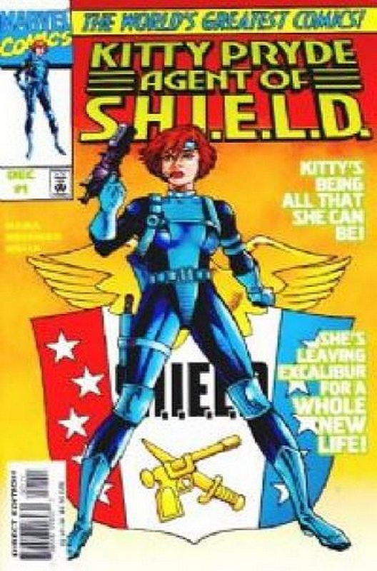 Cover of Kitty Pryde: Agent of SHIELD #1. One of 250,000 Vintage American Comics on sale from Krypton!