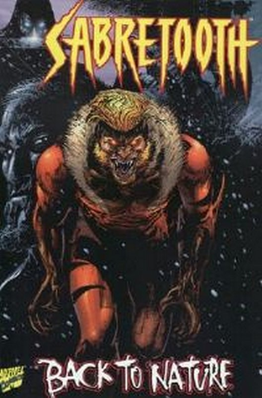 Cover of Sabretooth: Back to Nature (1997 One Shot) #1. One of 250,000 Vintage American Comics on sale from Krypton!
