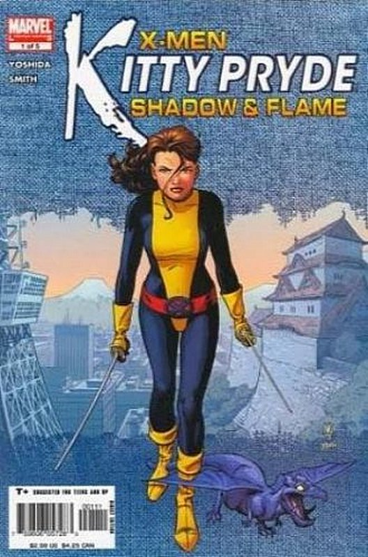 Cover of X-Men: Kitty Pryde - Shadow & Flame (2005 Ltd) #1. One of 250,000 Vintage American Comics on sale from Krypton!
