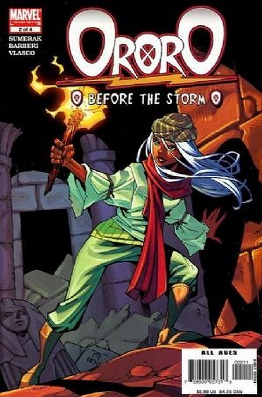 Cover of Ororo: Before the Storm (2005 Ltd) #2. One of 250,000 Vintage American Comics on sale from Krypton!