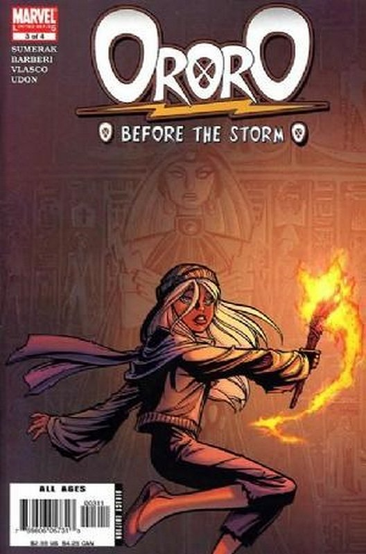 Cover of Ororo: Before the Storm (2005 Ltd) #3. One of 250,000 Vintage American Comics on sale from Krypton!