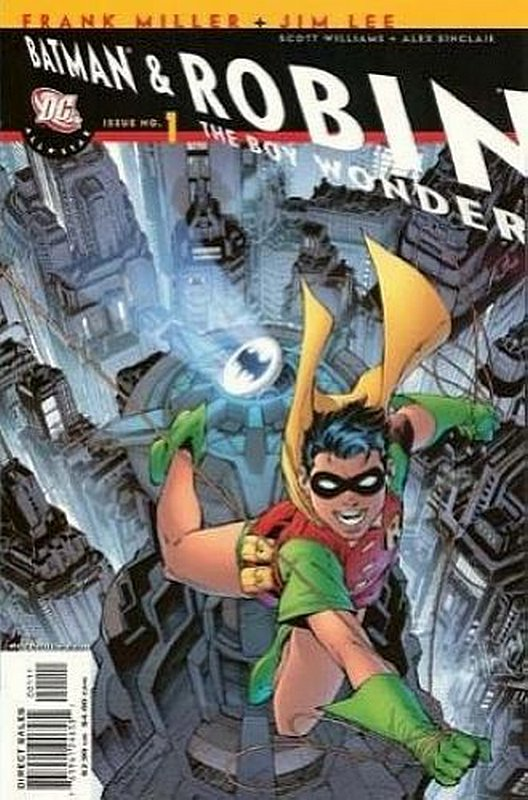 Cover of All-Star Batman & Robin (Vol 1) #1. One of 250,000 Vintage American Comics on sale from Krypton!