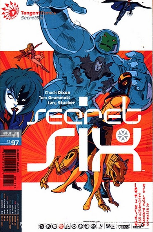 Cover of Tangent Comics: Secret Six (1997 One Shot) #1. One of 250,000 Vintage American Comics on sale from Krypton!