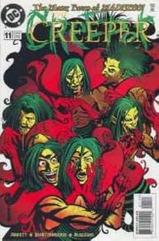 Cover of Creeper (Vol 2) #11. One of 250,000 Vintage American Comics on sale from Krypton!