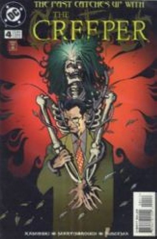 Cover of Creeper (Vol 2) #4. One of 250,000 Vintage American Comics on sale from Krypton!